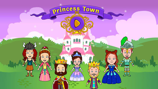 My Tizi Princess Town - Doll House Castle Game 2.1 Screenshots 8