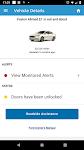 screenshot of MyFord Mobile