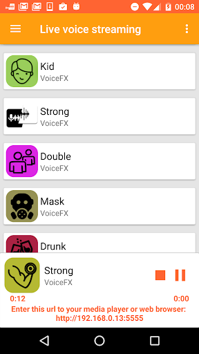 VoiceFX - Voice Changer with voice effects screenshots 6