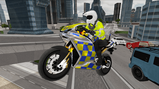Police Motorbike Simulator 3D screenshots 8