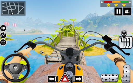 Impossible Stunts Bike Racing Games 2018: Sky Road  screenshots 1