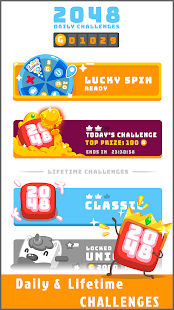 2048 Daily Challenges - Best pastime & brain game