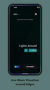 Muviz Edge - Music Visualizer, AOD Edge Lighting 1.3.2.0 Screenshots 2