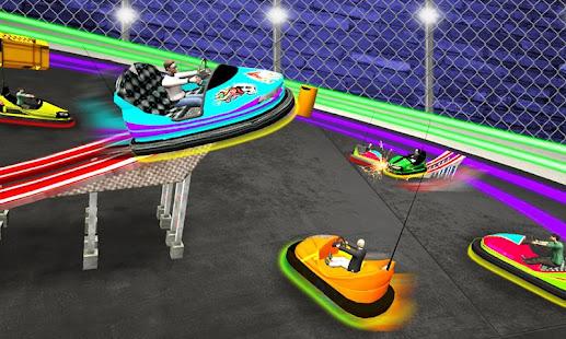 Light Bumping Cars Extreme Stunts: Bumper Car Game 5.7 screenshots 2