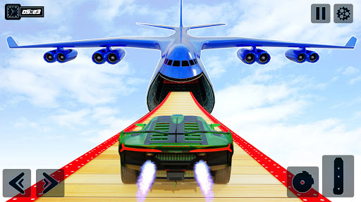 Impossible GT Car Driving Tracks: Big Car Jumps apkpoly screenshots 1