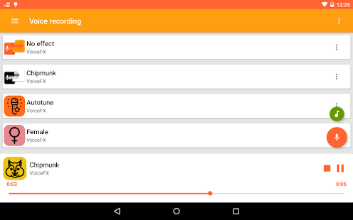 VoiceFX - Voice Changer with voice effects 1.1.8d-google Screenshots 8