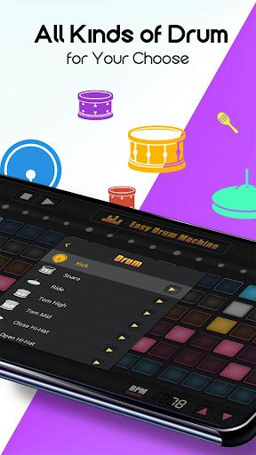 Easy Drum Machine - Beat Machine & Drum Maker 1.2.41 Screenshots 4