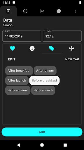 Diabetes 4.4 Screenshots 2