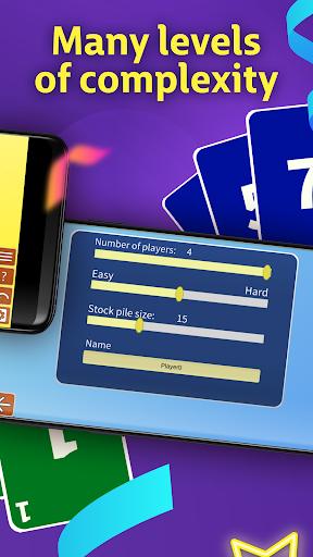 Super Skido Spite & Malice free card game  screenshots 3