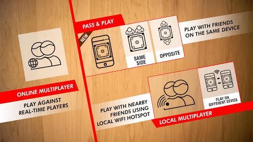 Real Carrom - 3D Multiplayer Game 2.3.7 Screenshots 2
