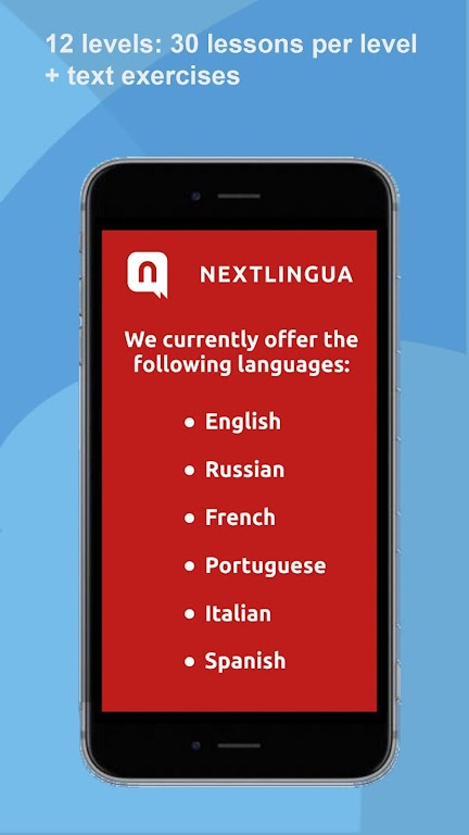 Learn languages Free with Nextlingua.  poster 0