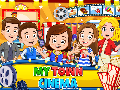 My Town : Cinema & Movie Star - Kids Movie Night 1.10 screenshots 7