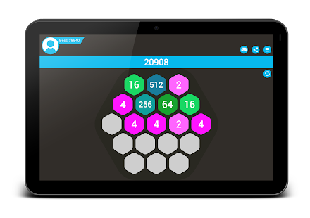 4096 Hexa - super 2048 puzzle