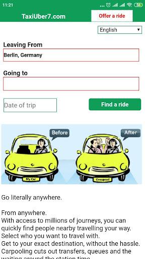 Blablataxi: Carpooling  Screenshots 1