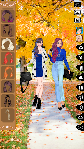 Autumn fashion game for girls  screenshots 1