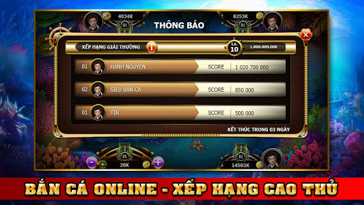 Fishing Pirate - Hải Tặc Bắn Cá - Ban Ca Ăn Xu For PC Windows (7, 8, 10, 10X) & Mac Computer Image Number- 9