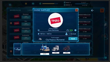 Virtual Truck Manager 2 Tycoon trucking company