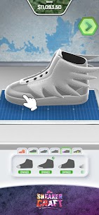 Sneaker Craft! MOD APK 1.0.7 (Unlocked Shoes/Stage) 1