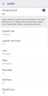 Dexcom G6 screenshots 4