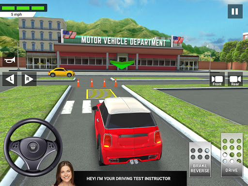 City Car Driving & Parking School Test Simulator 3.0 screenshots 9