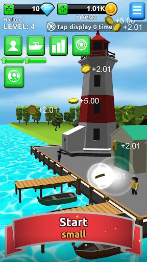 Harbor Tycoon Clicker apktreat screenshots 1