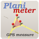 Planimeter - GPS area measure | land survey on map