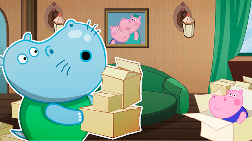 Hippo in Seahouse: Hidden Objects for Kids  screenshots 4