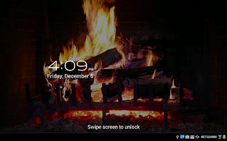 Virtual Fireplace LWP Free