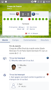 Foot Mercato : transferts, ru00e9sultats, news, live 4.1.58 Screenshots 4