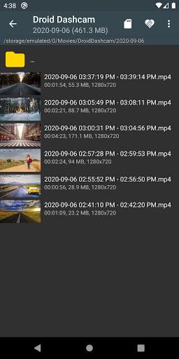 Droid Dashcam - Driving video recorder, BlackBox modavailable screenshots 3
