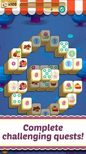 Mahjong Solitaire Cupcake Bakery