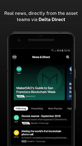 Delta - Bitcoin & Cryptocurrency Portfolio Tracker screenshots 5