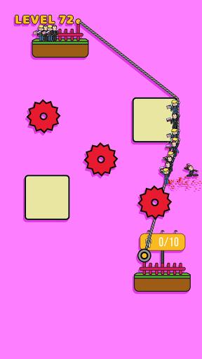 Rope Rescue! - Unique Puzzle android2mod screenshots 4