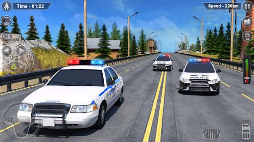 Police Car Driving Simulator 3D: Car Games 2020 apkpoly screenshots 3