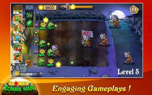 Flower Zombie War 1.2.6 Screenshots 12