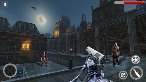 Zombie Hunter Zombie Shooting games : Zombie Games modiapk screenshots 1