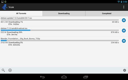 Vuze Torrent Downloader 2.1 Screenshots 6