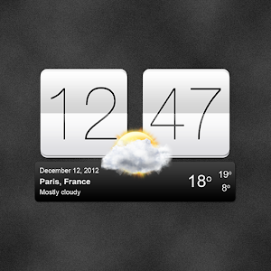 Sense V2 Flip Clock Weather 5.85.8 by MACHAPP Software Ltd logo