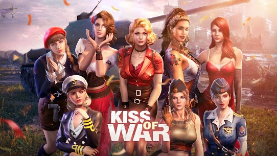 Kiss of War Mod Apk Latest Version 2021** 1