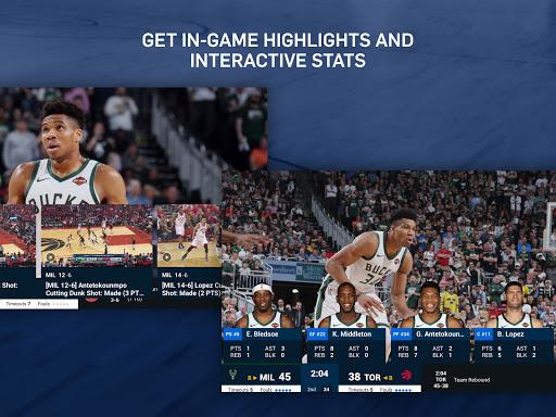 NBA: Live Games & Scores screenshots 14
