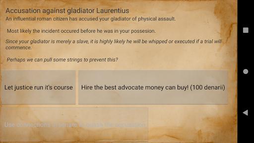 Gladiator manager 1.14.5 screenshots 5