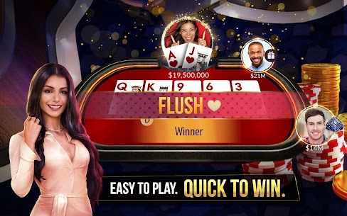 Zynga Poker – Free Texas Holdem Online Card Games Mod 22.08 Apk [Unlimited Chips] 1
