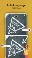 screenshot of Photo Translator - translate pictures by camera