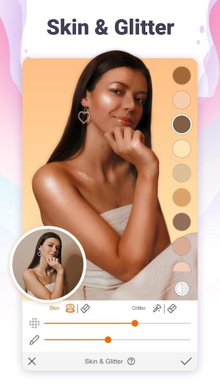 Hotune - Face&body editor&body enhancer&face app poster 4