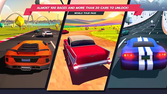 Horizon Chase - Thrilling Arcade Racing Game apk