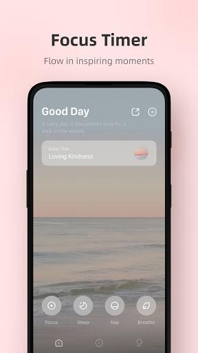 Tide - Sleep Sounds, Focus Timer, Relax Meditate  Screenshots 1
