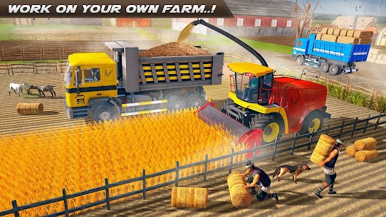 Real Tractor Farming -New Tractor Driving Sim 2021 Apk Download 5