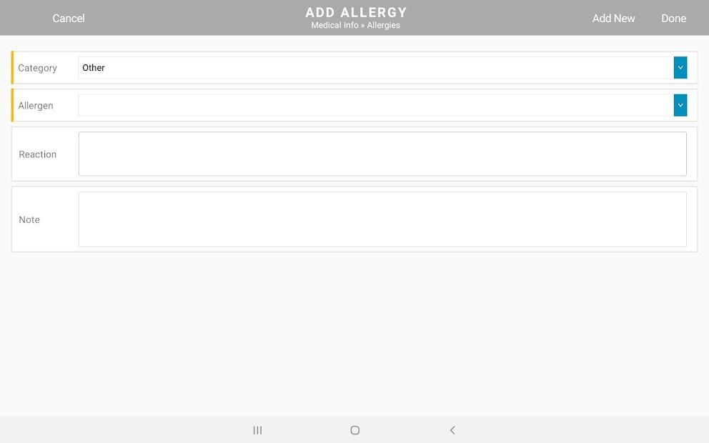 MatrixCare Clinical screenshot 1