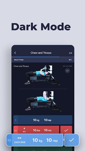 Gym Gym Workout Personal Trainer Bodybuilding  Screenshots 4