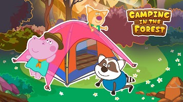 Scout adventures. Camping for kids